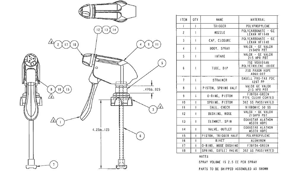 Spray Bottle Diagram Pictures To Pin Pinsdaddy